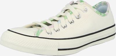 CONVERSE Baskets basses en beige / vert, Vue avec produit