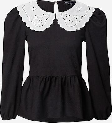 Dorothy Perkins Shirt in Schwarz