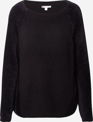STREET ONE Пуловер в черно