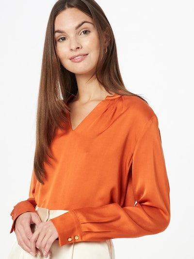 MORE & MORE Blouse in Orange, View model
