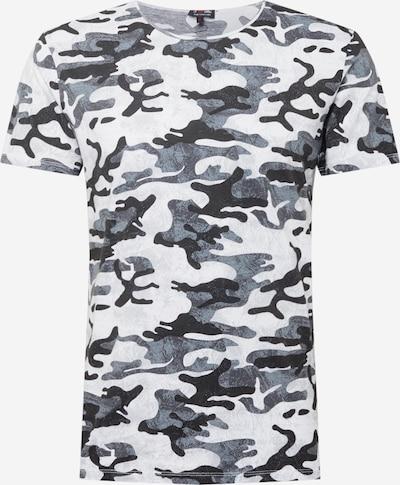 Key Largo Shirt in grau / schwarz / weiß, Produktansicht