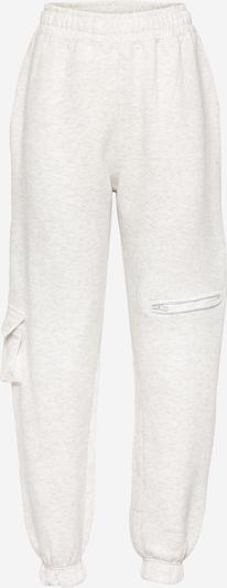 Public Desire Pantalon en crème, Vue avec produit