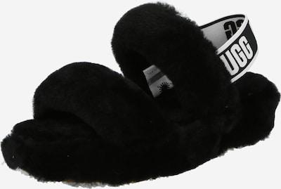 UGG Sandale 'Oh Yeah' in schwarz / weiß, Produktansicht