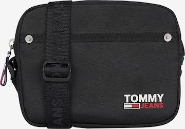 Geantă de umăr de la Tommy Jeans pe negru
