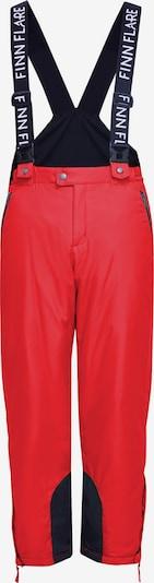 Finn Flare Functionele broek in de kleur Rood, Productweergave