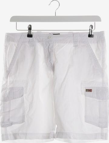 NAPAPIJRI Shorts in XXXL in White