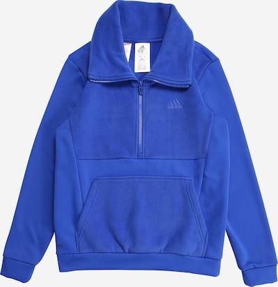 ADIDAS PERFORMANCE Sporta džemperis, krāsa - zils, Preces skats