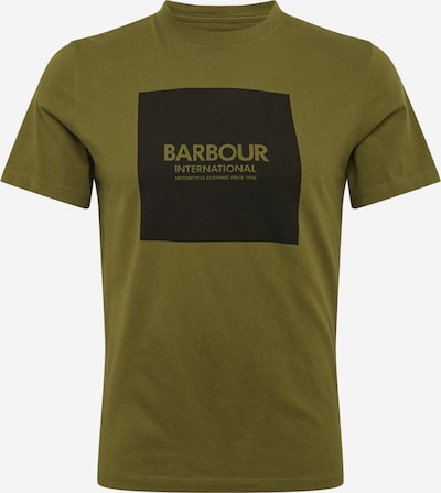 Barbour International Tričko - kaki / čierna, Produkt