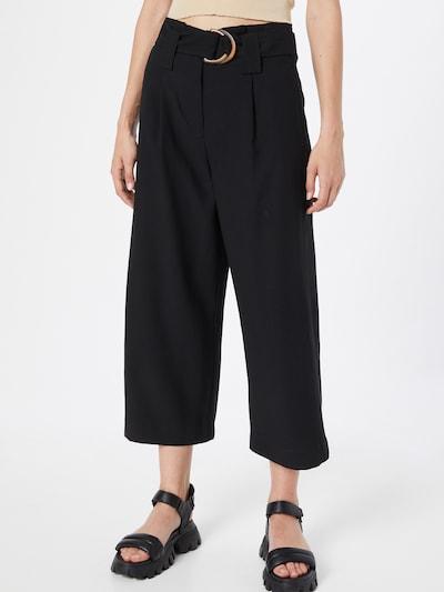 VERO MODA Pantalon à pince 'Orla' en noir, Vue avec modèle