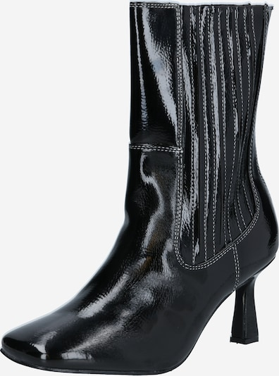 4th & Reckless Bottines 'ROWE' en noir, Vue avec produit