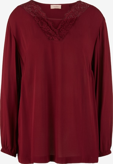 TRIANGLE Bluse in bordeaux, Produktansicht
