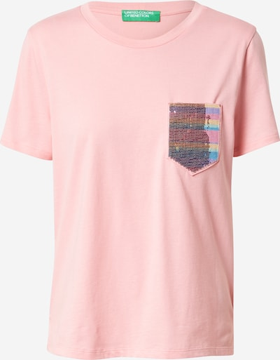 UNITED COLORS OF BENETTON T-Shirt in rosa, Produktansicht