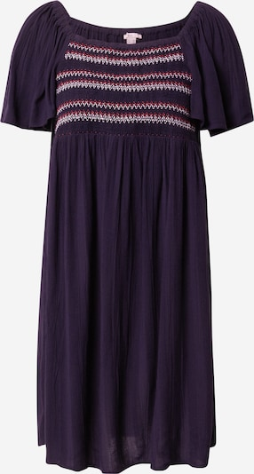 EDC BY ESPRIT Dress in Night blue / Red / White, Item view