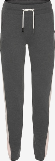 HIS JEANS Pants in Anthracite / White, Item view