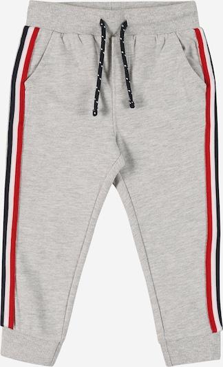 Pantaloni OVS di colore blu scuro / grigio sfumato / rosso / bianco, Visualizzazione prodotti