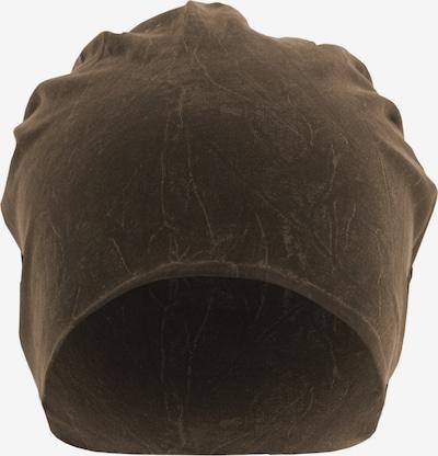 MSTRDS Bonnet en marron, Vue avec produit