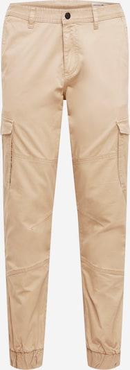 TOM TAILOR DENIM Pantalon cargo 'cargo jogger' en beige, Vue avec produit