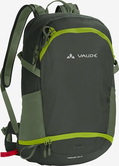 VAUDE Sac à dos de sport en vert, Vue avec produit