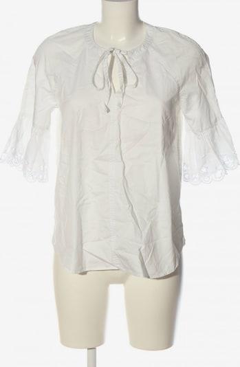 TOMMY HILFIGER Kurzarm-Bluse in XS in weiß, Produktansicht