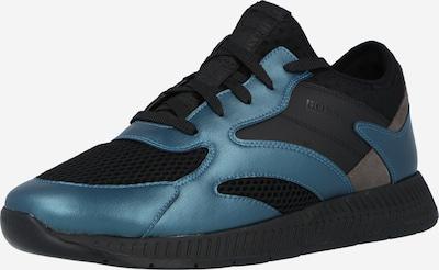 BOSS Casual Nízke tenisky 'Titanium' - modrá / čierna, Produkt