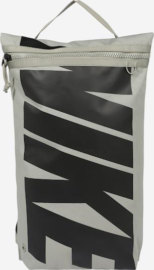 NIKE Bolsa de deporte en gris / negro, Vista del producto