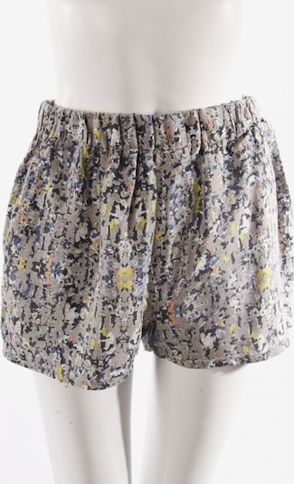 BLEND Shorts in S in Pastel yellow / Light green / Silver, Item view