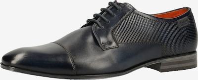 bugatti Schnürschuh in dunkelblau, Produktansicht