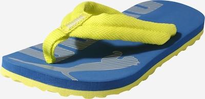 PUMA Strand-/badschoen 'Epic' in de kleur Blauw / Geel, Productweergave