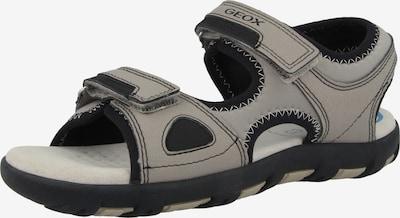 GEOX Chaussures ouvertes 'J S.Pianeta B' en beige / noir, Vue avec produit