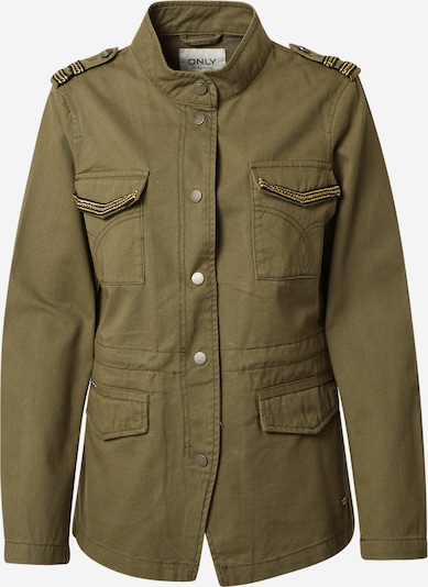 ONLY Overgangsjakke 'SIKA' i gul / oliven / mørkegrøn, Produktvisning