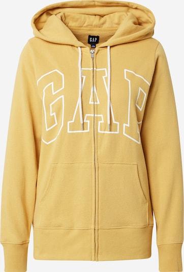 GAP Bluza rozpinana 'EASY' w kolorze żółty / białym, Podgląd produktu