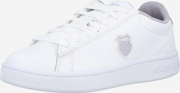 K-SWISS Σνίκερ χαμηλό 'COURT SHIELD' σε λευκό