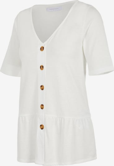 Bluză 'Flor' MAMALICIOUS pe alb, Vizualizare produs