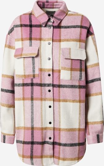 SISTERS POINT Jacke 'EIRA' in pink / weiß, Produktansicht