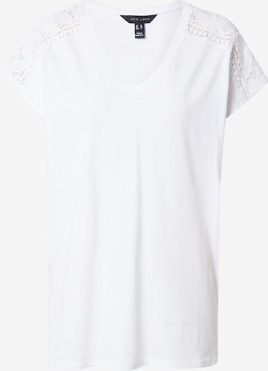 NEW LOOK Shirt 'TRIM' in weiß, Produktansicht