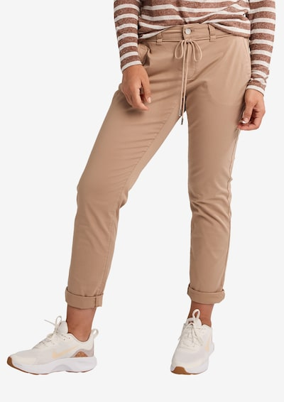 comma casual identity Chinohose in beige, Modelansicht