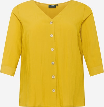 Zizzi Chemisier 'VMACY' en jaune, Vue avec produit