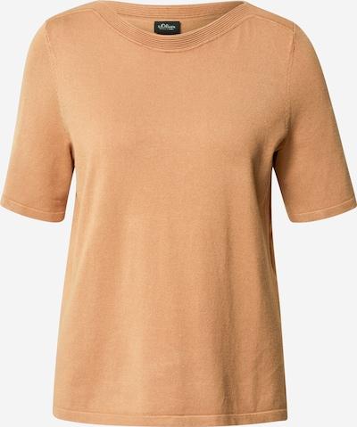 s.Oliver BLACK LABEL Pullover in creme, Produktansicht