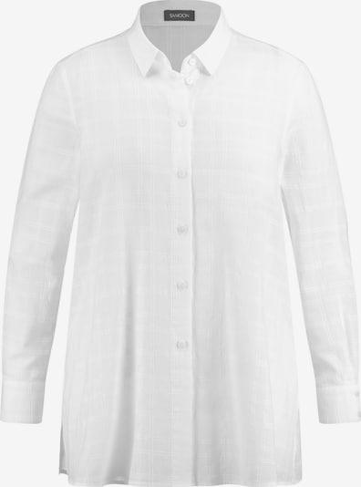 SAMOON Bluse in weiß, Produktansicht