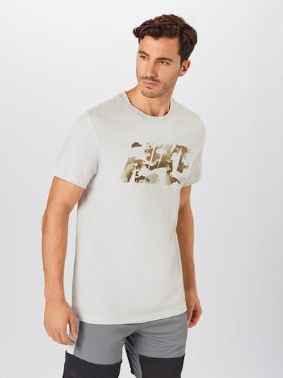 NIKE Funktionsskjorte i beige / brun / hvid: Frontvisning