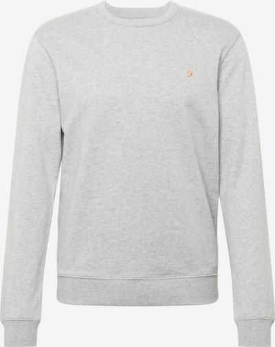 FARAH Sweatshirt in honig / graumeliert, Produktansicht