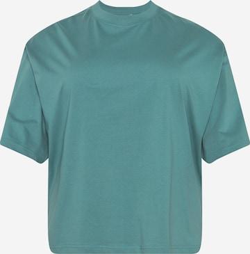 Urban Classics Curvy - Camiseta en verde