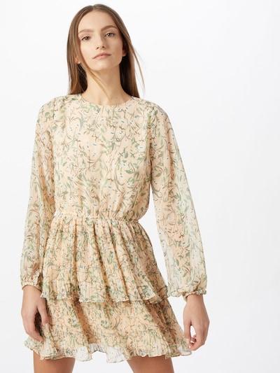 Gina Tricot Kleid 'Amber' in creme / mischfarben, Modelansicht
