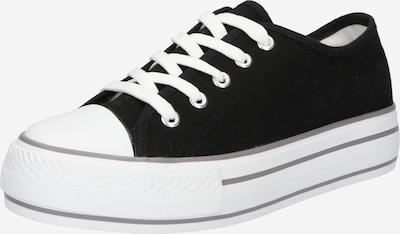 fekete / fehér Hailys Rövid szárú edzőcipők 'Pia', Termék nézet