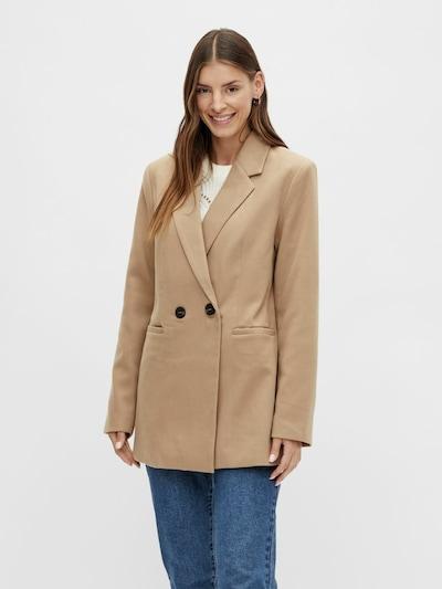VILA Blazer in Brown, View model