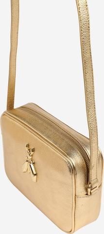 PATRIZIA PEPE Crossbody Bag in Gold