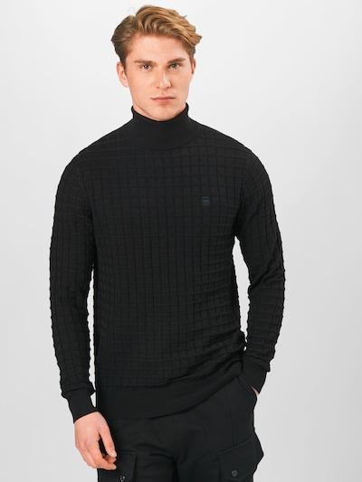 Megztinis iš G-Star RAW , spalva - juoda: Vaizdas iš priekio