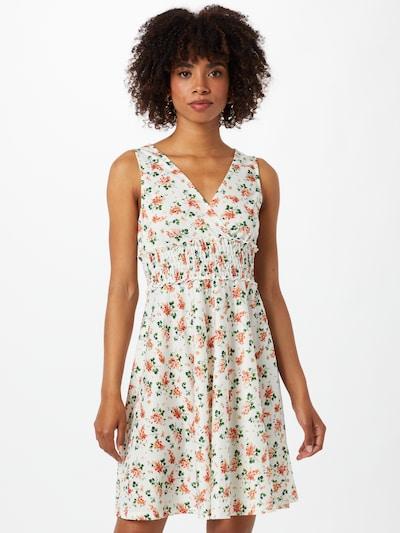 ABOUT YOU Kleid 'Mirjam' in mischfarben / weiß, Modelansicht