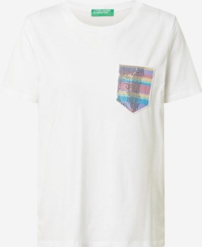 UNITED COLORS OF BENETTON Shirt in de kleur Turquoise / Lichtgrijs / Lila / Oudroze / Zwart, Productweergave