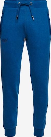 Superdry Broek in de kleur Blauw / Zwart, Productweergave